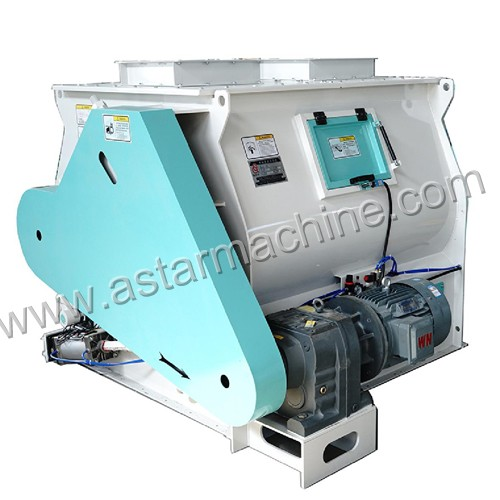 SSHJ series double shaft animal feed mixer machine