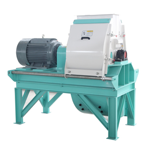 Wood chips hammer mill crusher
