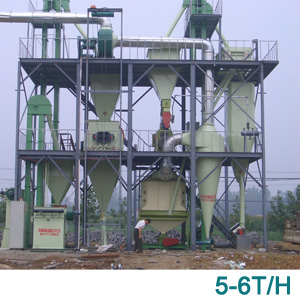 5-6T/H manual dosing system animal feed line